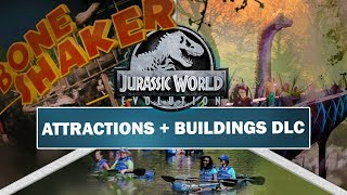 Jurassic World: Evolution - New Attraction & Building DLC Ideas