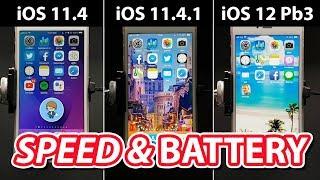 ไปต่อหรือควรรอ? iOS 11.4 VS 11.4.1 VS 12 Public beta 3 Speed and Battery ใครเร็ว ใครสูบแบต ไปชมกัน