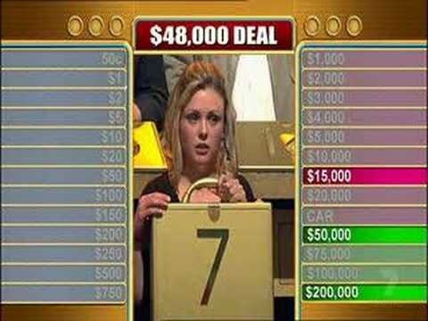 Deal or No Deal - double deal plus marriage proposal
