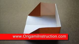 How To Make An Origami Dust Pan
