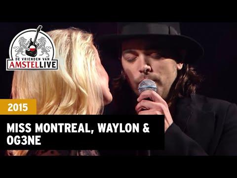 Love You More - Miss Montreal, Waylon, O'G3NE (De Vrienden van Amstel LIVE! 2015)