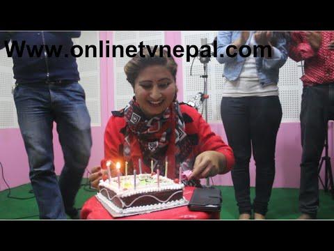 अन्जु  पन्त  ३९ औ जन्मदिन यसरि Nepali Singer Anju Panta 39th Birthday