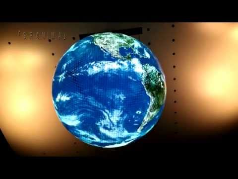 Animation for the grobe -Content of The Geo-Cosmos-