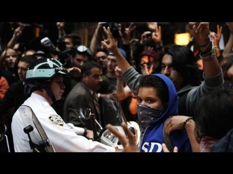 Occupy-Wallstreet: Mehrere Aktivisten in New York festgenommen (14.10.2011)