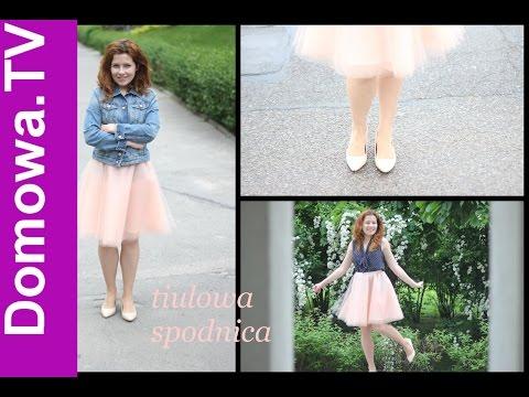 Spódnica Tiulowa - Spódnica Z Tiulu Jak Uszyć | How ToMAKE A TULLE SKIRT