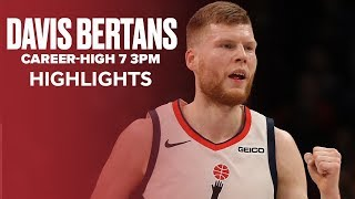 Davis Bertans Hits Career-High 7 3-Pointers Against 76ers