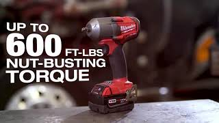 "[PROMO] Milwaukee 2852, 3/8"" FUEL Mid-Torque Impact Wrench"