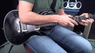Guitar Finger Tapping & Pick Harmonics Lesson