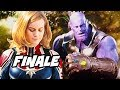 Avengers Infinity War Ending   Captain Marvel And Agents Of SHIELD Finale Explained