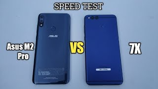 HONOR 7X ASUS ZENFONE MAX PRO M2 - Speed Test!!