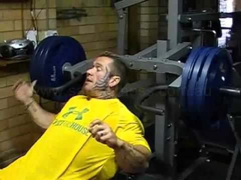 Lee Priest Incline Bench Press On Powertec Multi System Youtube
