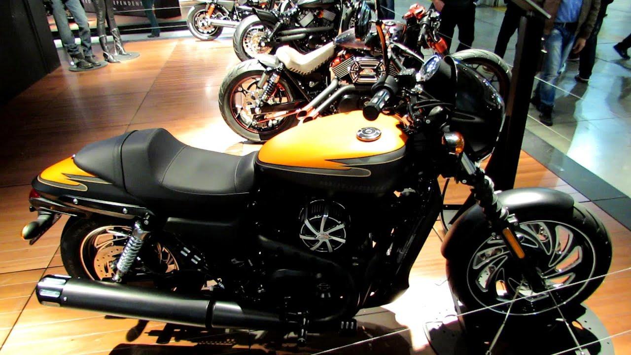 Paris Harley Davidson >> 2014 Harley-Davidson Street 750 Custom Design Walkaround -2013 EICMA Milan Motorcycle Exibition ...