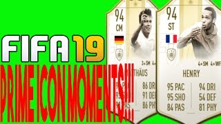NEW PRIMER ICONS & ONES TO WATCHES!!! (FIFA 19 ULTIMATE TEAM)
