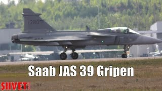 Saab JAS 39 Gripen C Landing Dance [50 FPS] - FinAF 100 Years