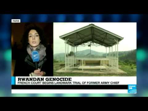 Rwandan genocide: French court begins trial of former army chief
