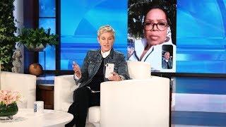 Ellen FaceTimes with Oprah About Devastation in Montecito