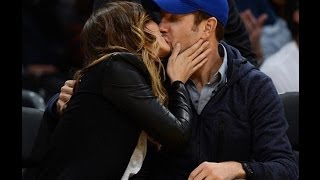 Pregnant Olivia Wilde and Jason Sudeikis lock lips while courtside at Lakers game