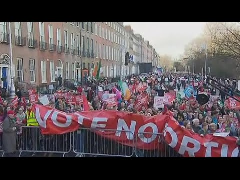 Fears of foreign influence in Ireland's abortion referendum