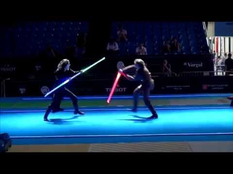 Star Wars duel on Fencing World Championships. BEST SOUND