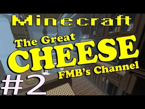 Minecraft The Great Cheese Part 2 - The Spider Horde!