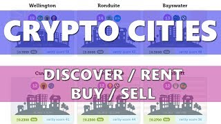 CryptoCities is new Ethereum Game - Buy and Sell Cities, Places with Crypto Cities - Crypto game