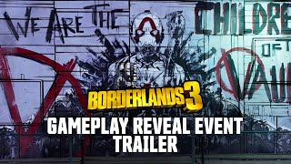 Borderlands 3 Gameplay Reveal Event Trailer