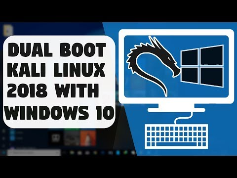 How To Dual Boot Kali Linux With Windows 10 Very Easily on Any PC [BIOS-MBR METHOD]  ?