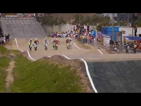 BMX Juegos Bolivarianos Peru 2013. Final Elite hombres