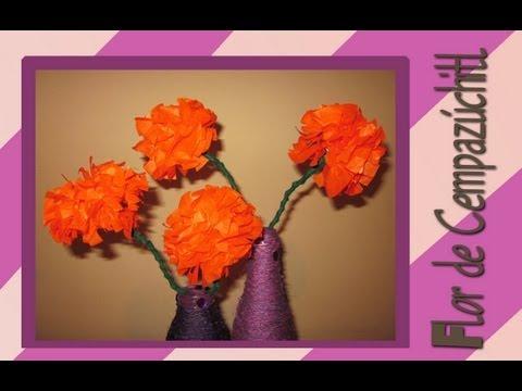 Haz tus Flores de Cempasúchil para tu Altar