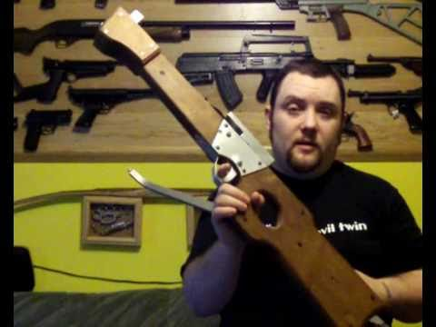 Making a homemade Crossbow - Part 7