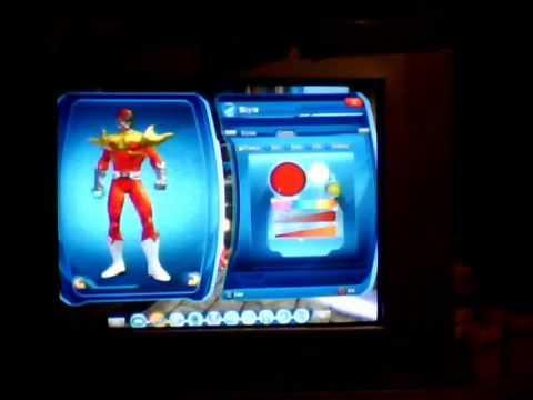 DC universe Online US PS3 Power Rangers united