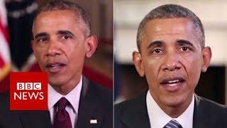 Fake Obama created using AI video tool - BBC News