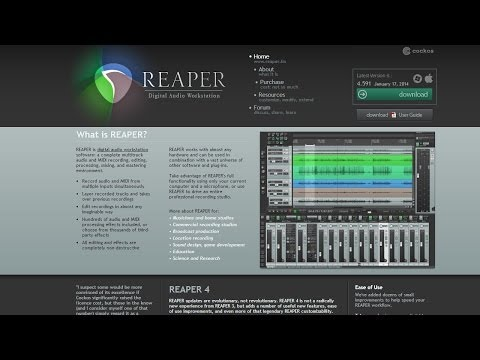 Ep 27   Reaper DAW & Why I Record With It