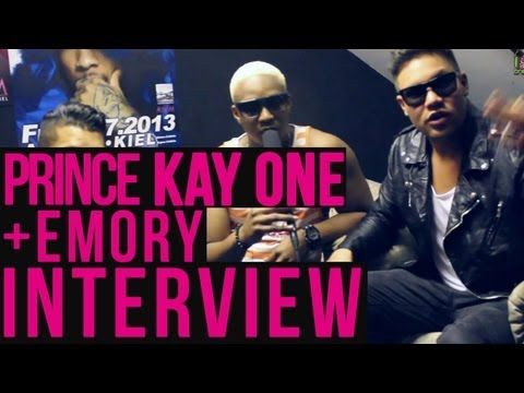 Prince Kay One & Emory Interview (Club Tour)