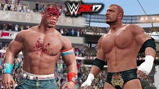 WWE 2K17 - John Cena vs Triple H