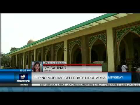 Filipino Muslims Celebrate Eid'l Adha
