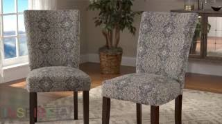 iNSPIRE Q PRODUCT ASSEMBLY Catherine Print Parsons Dining Side Chair (Set of 2)