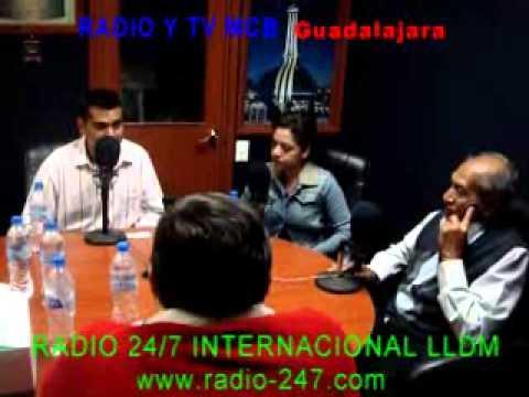 RADIO Y TV MCB GUADALAJARA  ENTREVISTA ESPECIAL AL HERMANO SANTIAGO JOAQUÍN FLORES