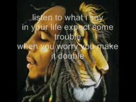 Bob Marley - Don't Worry Be Happy (lyric Song) video