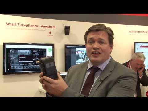 Smart Surveillance - Vodafone M2M at Mobile World Congress 2014