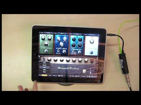 AmpliTube & iRig Review for the Apple iPad