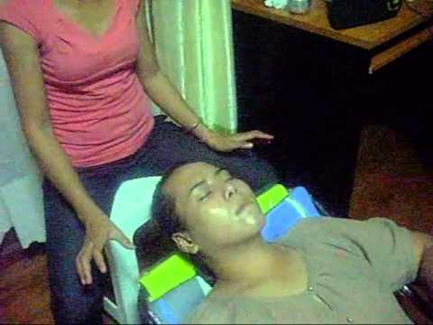 Face Massage with GT&F Milk Powder.wmv