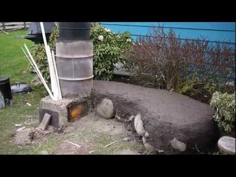 Rocket Stove Outdoor System:  BBQ. Oven. Boiler. Mass Heater. Firepit