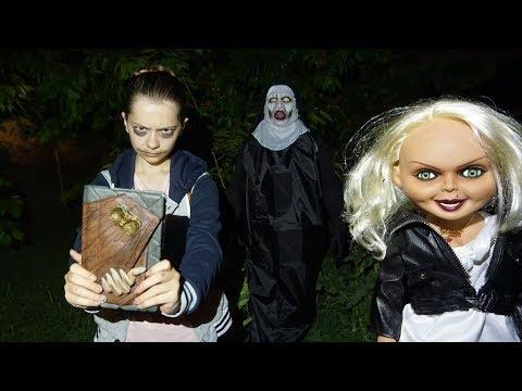 Баку против Монахини и ее кукол! Невеста Чаки 3 • Nepeta