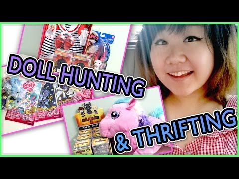 TOY HUNTING & THRIFTING - My Little Pony, Dexter Charming, Invisi Billy, Zelfs and Mystery Minis