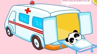 Мультики про машинки.Пожарная машина Скорая помощь Полицейская. Видео для детей.
