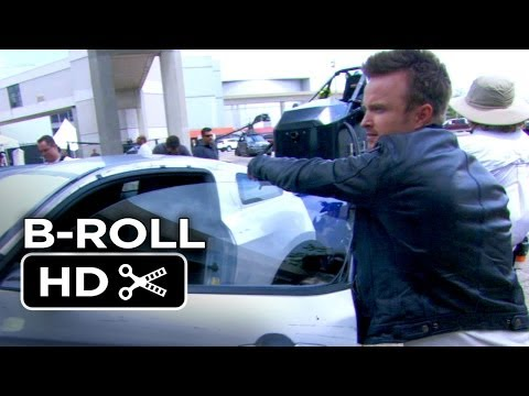 Need For Speed Complete B Roll 2014 Aaron Paul Racing ...
