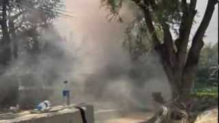 Thailand violence  Siege warfare on the streets of Bangkok