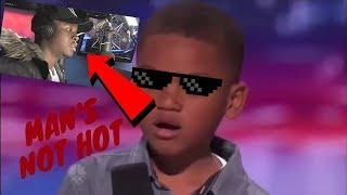 "Kid Raps Big Shaq ""Man"