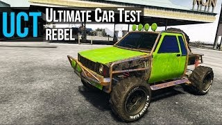 GTA 5 - Ultimate Car Test: Rebel ( Toyota Hilux )